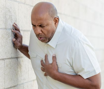 درد قفسه سینه